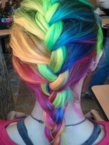 rainbow-french-braid