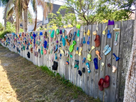 Fence Art - Port Aransas